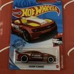 Custom '11 Camaro #239 Red Fire Rescue 2/10 2020 Hot Wheels Case P