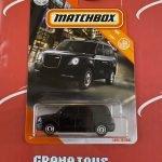 Levc TX Taxi #6 Black City 2020 Matchbox Case E