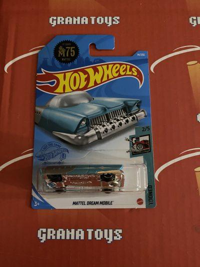 Mattel Dream Mobile #14 2/5 Tooned 2021 Hot Wheels Case A