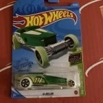 Hi-Roller #18 2/5 Glow Racers 2021 Hot Wheels Case A