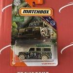 65 Land Rover Gen II #63 Jungle 2020 Matchbox Case F