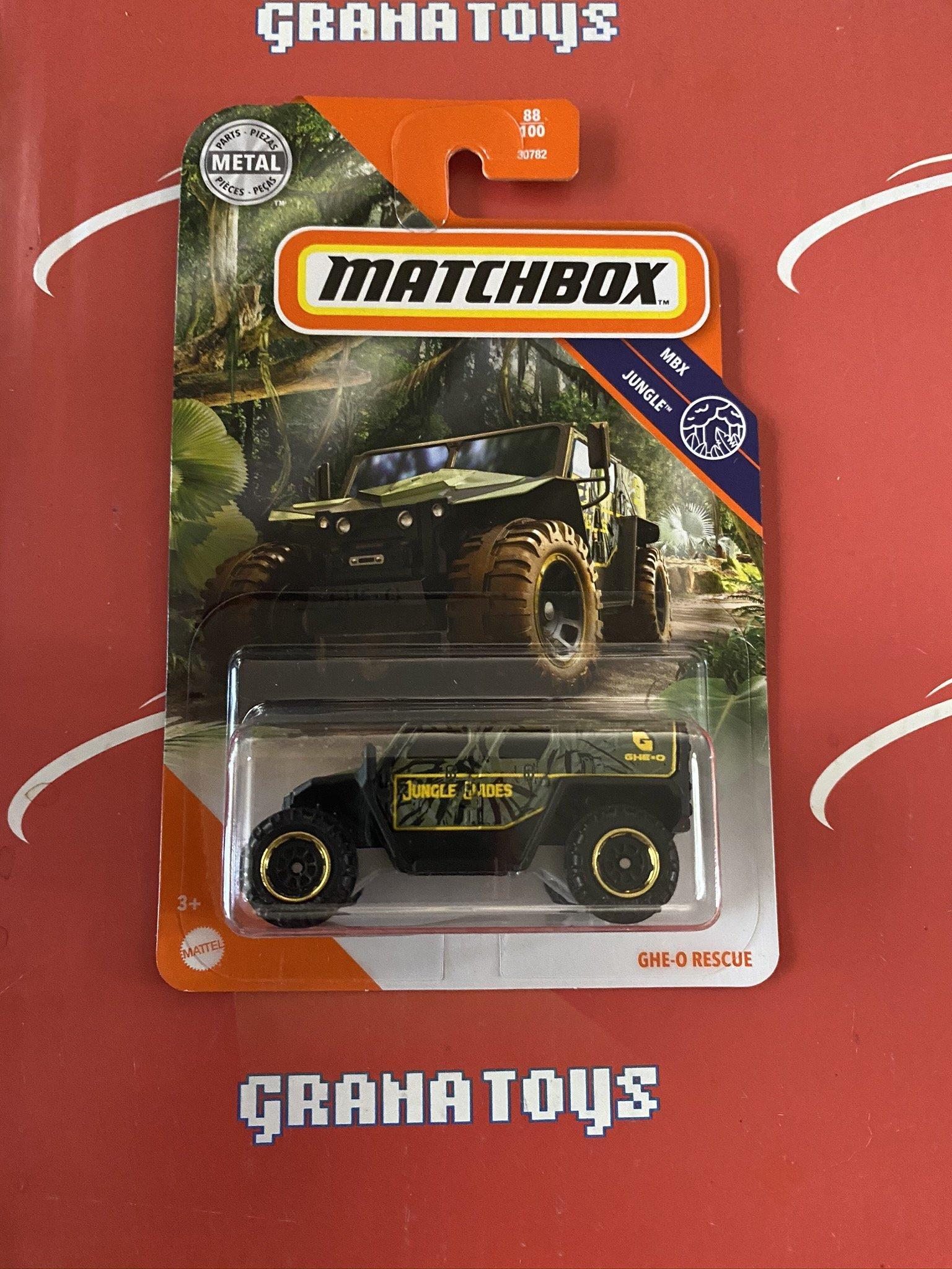GHE-O Rescue #88 Jungle 2020 Matchbox Case F