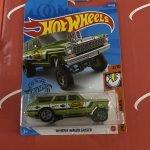 64 Nova Wagon Gasser Green 2/10 Muscle Mania 2020 Hot Wheels Case Q