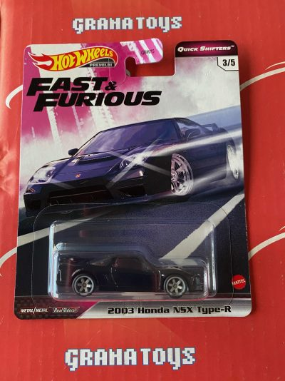 2003 Honda NSX Type-R 2020 Hot Wheels Fast & Furious Quick Shifters
