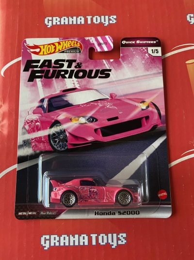 Honda S2000 2020 Hot Wheels Fast & Furious Quick Shifters