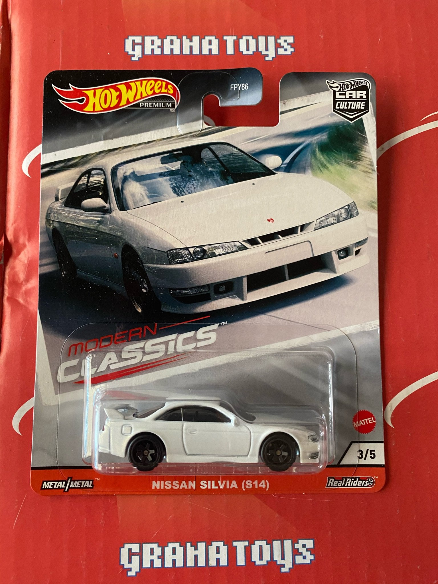 Nissan Silvia S14 2020 Hot Wheels Car Culture Modern Classics 887961815863 Ebay