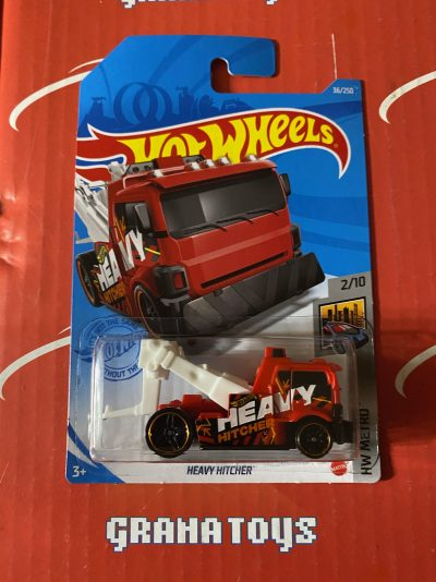 Heavy Hitcher #36 2/10 Metro 2021 Hot Wheels Case B