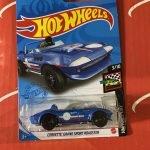 Corvette Grand Sport Roadster #37 3/10 Race Day 2021 Hot Wheels Case B