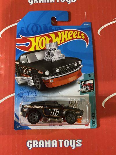 68 Mustang #40 3/5 Tooned 2021 Hot Wheels Case B