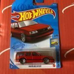 Volvo 850 Estate #43 2/10 Factory Fresh 2021 Hot Wheels Case B
