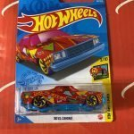 80 El Camino #44 3/10 Art Cars 2021 Hot Wheels Case B