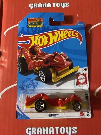 Zombot #46 Rock Em Sock Em Robots 3/5 Mattel Games 2021 Hot Wheels Case B