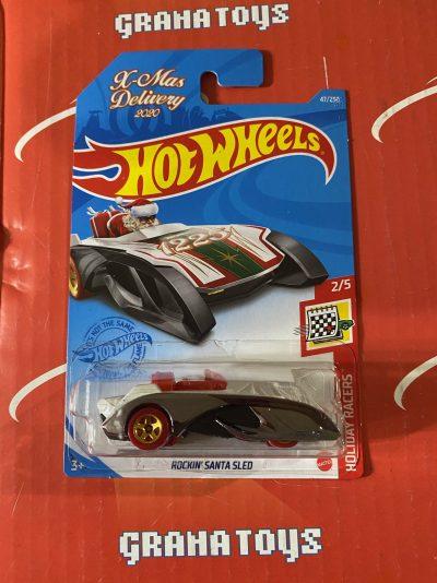 Rockin' Santa Sled #47 X-Mas Delivery 2/5 Holiday Racers 2021 Hot Wheels Case B
