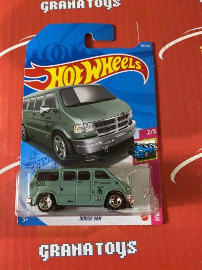 Dodge Van #50 2/5 Drift 2021 Hot Wheels Case B