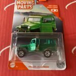 1962 Jeep Willys Wagon 2020 Matchbox Moving Parts Series Case H