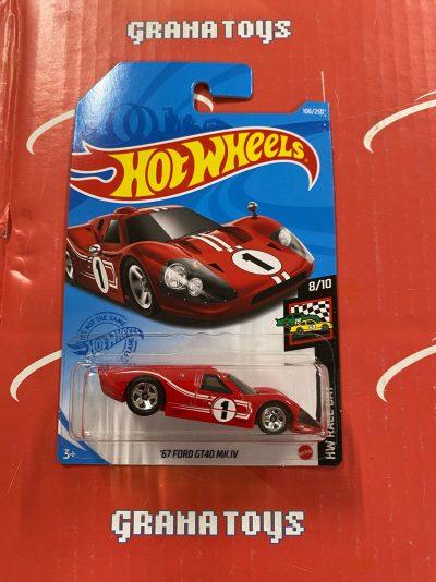 67 Ford GT40 MK.IV #106 2021 Hot Wheels Case E