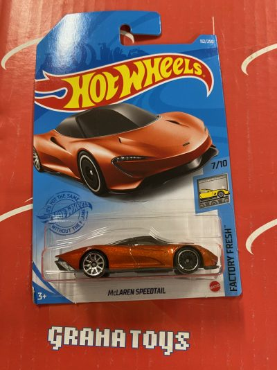McLaren Speedtail #112 2021 Hot Wheels Case E