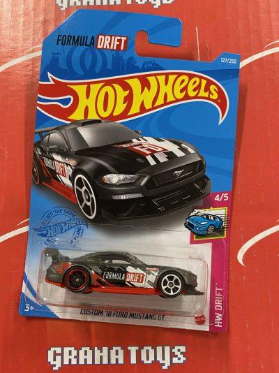 Custom '18 Ford Mustang GT #127 2021 Hot Wheels Case E