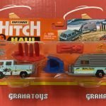 MBX Wave Rider Volkswagen Transporter with Trailer 2021 Matchbox Hitch & Haul Mix A