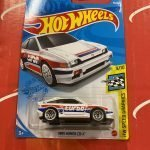 1985 Honda CR-X #90 2021 Hot Wheels Case D