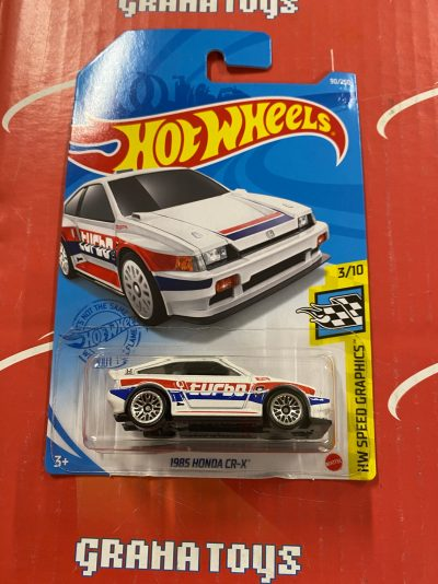 1985 Honda CR-X #90 2021 Hot Wheels Case D