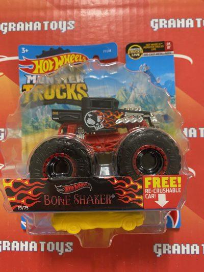 Bone Shaker 19/75 MT Live 4/7 2021 Hot Wheels Monster Trucks Case C