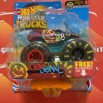 Demo Derby 4/75 MT Live 1/7 2021 Hot Wheels Monster Trucks Case A