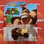 Donkey Kong 2021 Hot Wheels Super Mario Gaming Character Cars Mix G