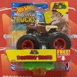 Donkey Kong 24/75 Super Mario 2021 Hot Wheels Monster Trucks Case C
