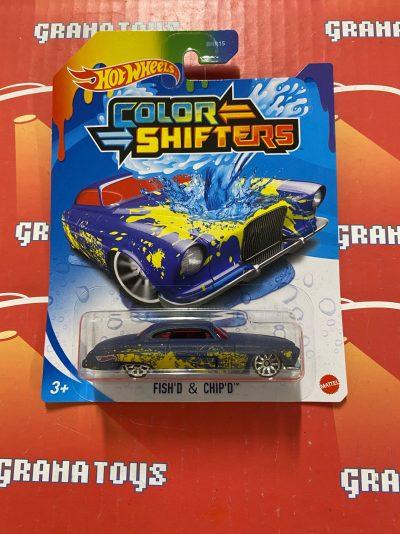 Fish'd & Chip'd 2021 Hot Wheels Color Shifters Mix G