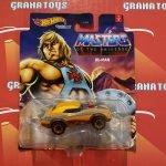 He-Man 2021 Hot Wheels MOTU Studio Character Cars