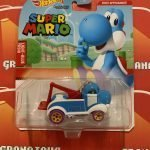 Light-Blue Yoshi 2021 Hot Wheels Super Mario Gaming Character Cars Mix G