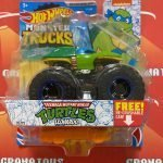 Leonardo 32/75  TMNT 2021 Hot Wheels Monster Trucks Case C