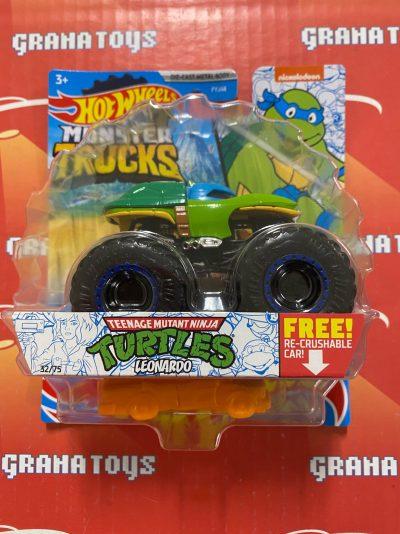 Leonardo 32/75  TMNT 2021 Hot Wheels Monster Trucks Case C
