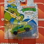 Leonardo TMNT Hot Wheels 2021 Animation Character Cars Mix P