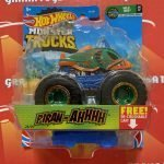 Piran-ahhhh 23/75 Wild Ride 4/7 2021 Hot Wheels Monster Trucks Case A