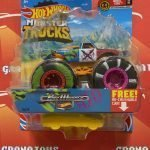 Pure Muscle 14/75 Wheel Cool 2/6 2021 Hot Wheels Monster Trucks Case B