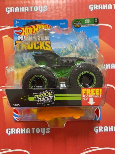 Ratical Racer 30/75 Wild Ride 2/7 2021 Hot Wheels Monster Trucks Case B