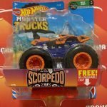 Scorpedo 7/75 Wild Ride 1/7 2021 Hot Wheels Monster Trucks Case A