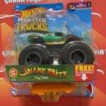 Snake Bite 1/75 Fan Favs 1/6 2021 Hot Wheels Monster Trucks Case A