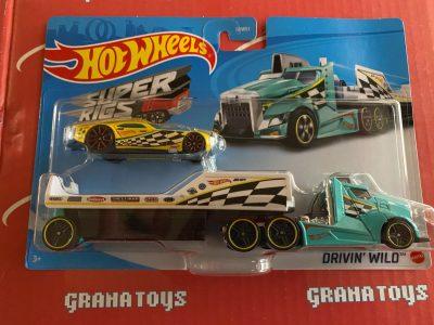 Drivin' Wild 2021 Hot Wheels Super Rigs Mix A