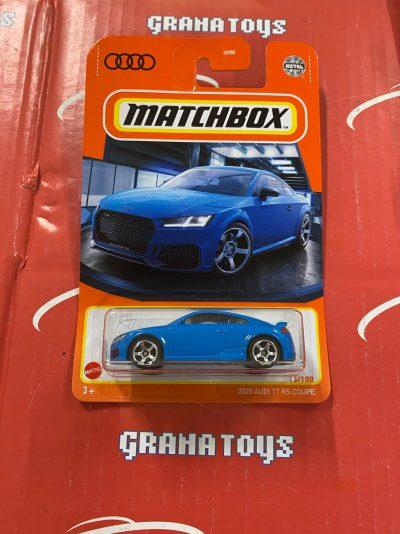 2020 Audi TT RS Coupe #16 2021 Matchbox Case T