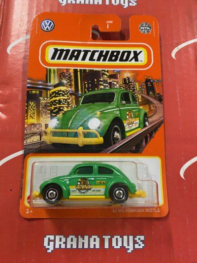 62 Volkswagen Beetle #97 2021 Matchbox Case T