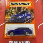 Bentley Bentayga #9 2021 Matchbox Case T