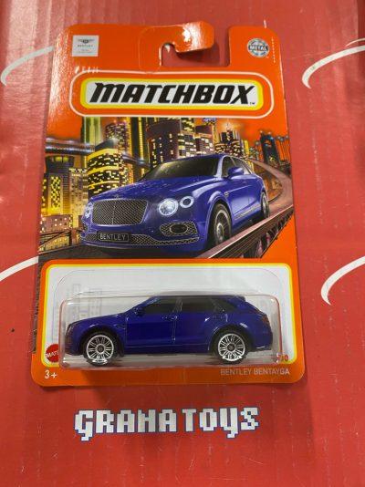 Bentley Bentayga #9 2021 Matchbox Case T