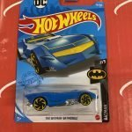 The Batman Batmobile #56 Batman 2/5 2021 Hot Wheels Case C
