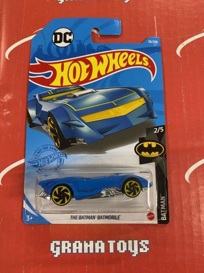 The Batman Batmobile #56 Batman 2/5 2021 Hot Wheels Case C