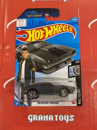Ion Motors Thresher #72 Rod Squad 1/5 2021 Hot Wheels Case C