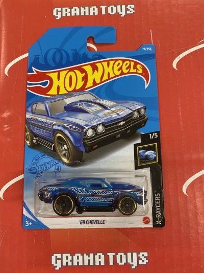 69 Chevelle #77 X-Raycers 1/5 2021 Hot Wheels Case C