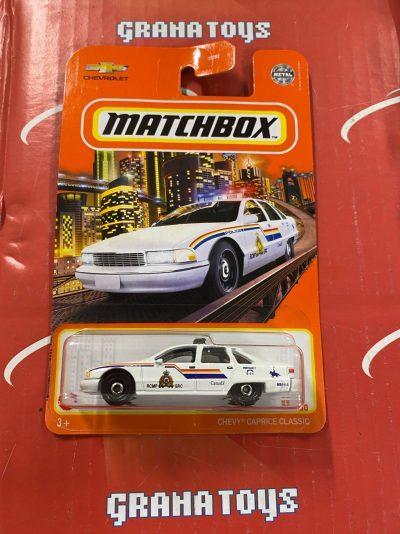 Chevy Caprice Classic #32 RCMP 2021 Matchbox Case T